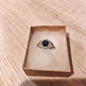 Jewelry - Sterling Silver Sapphire Blue Ring